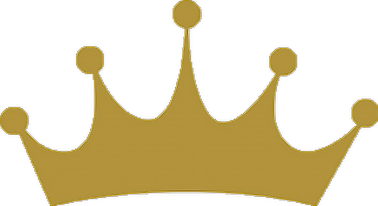Gold crown stickers clipart images gallery for free download.