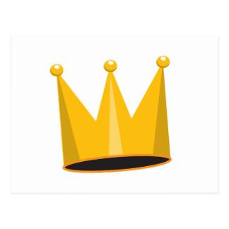 King Gold Crown Postcards.