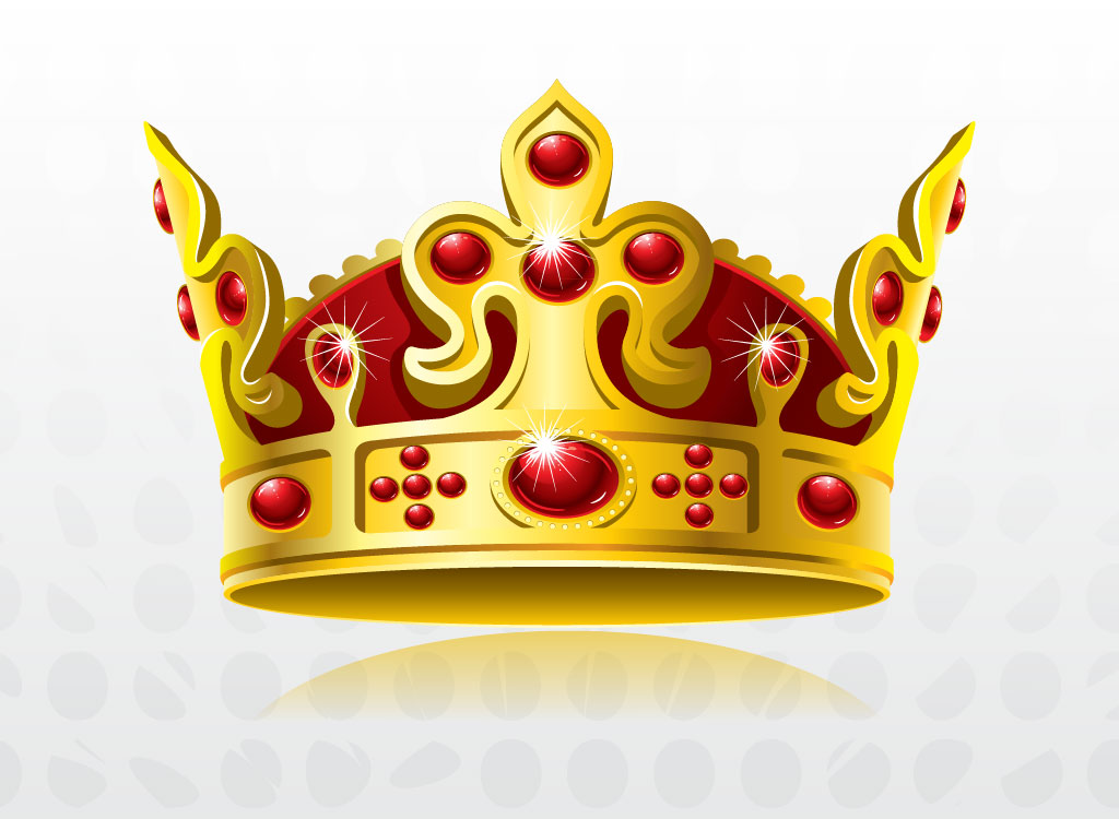 Gold crown king clipart.