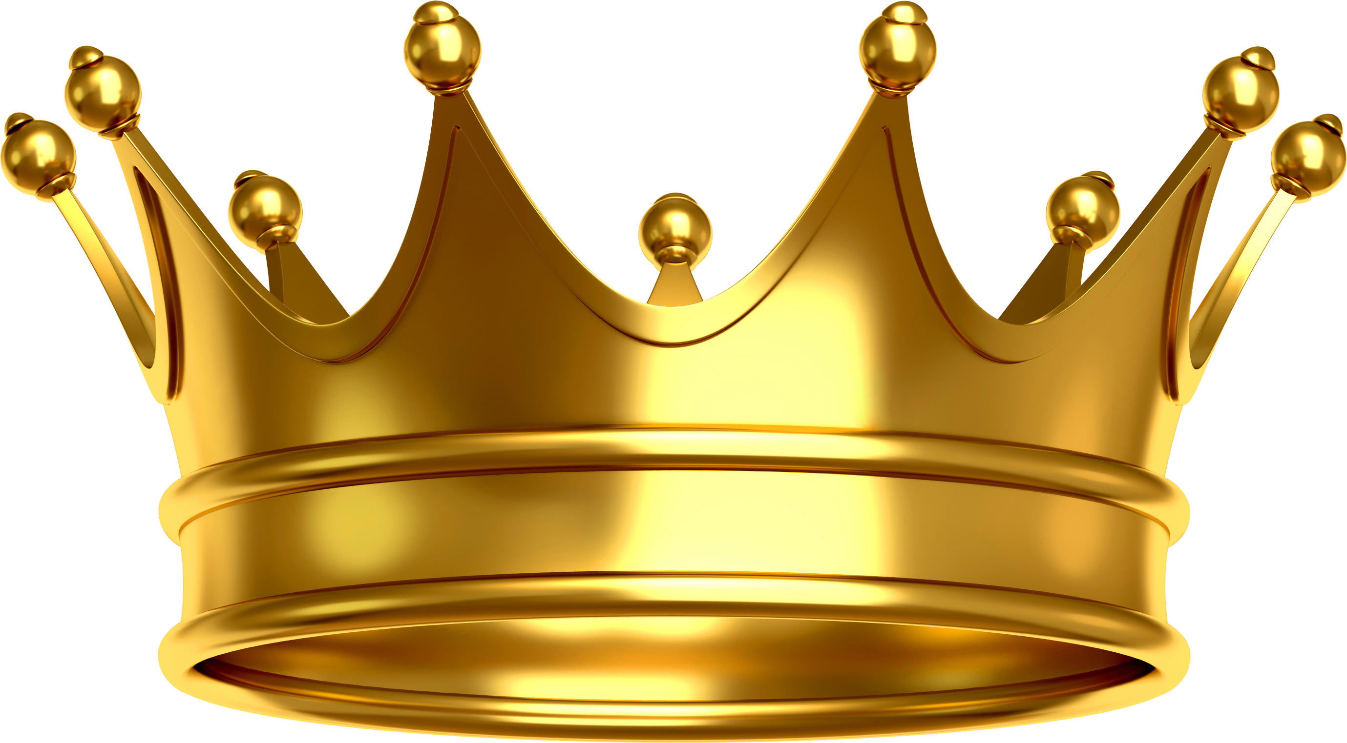 Gold Crown Png (+).