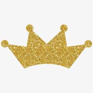 Gold Crown Clipart Png Image.