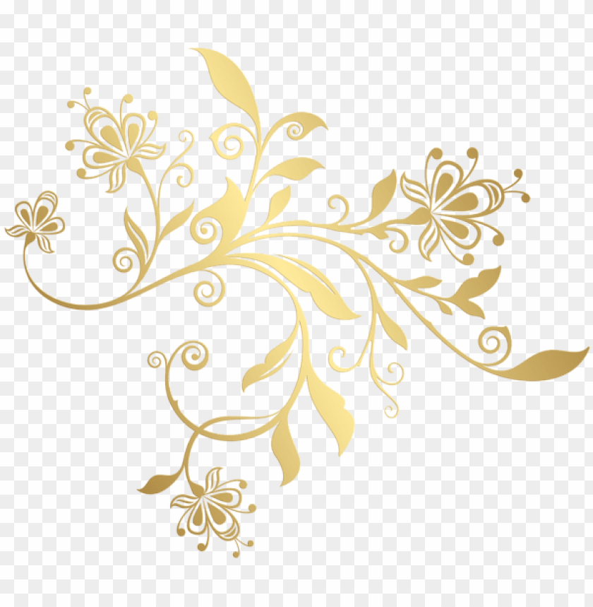 Download gold decorative ornament png clipart png photo.