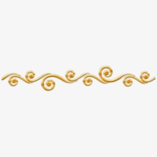 Decorative Line Gold Clipart Lines Png.