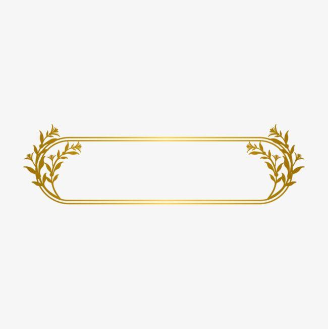 Gold Line Border, Gold Dendrite, Gold Frame, Euporean.