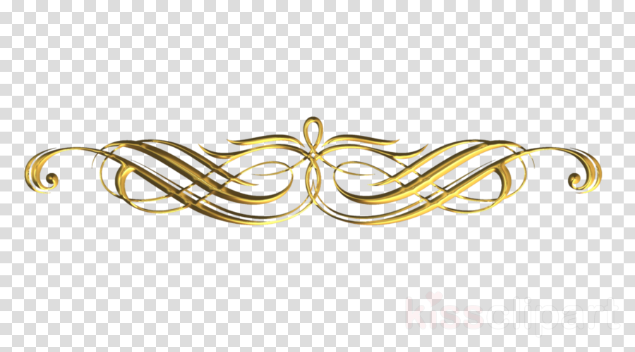 Free Decorative Line Gold Clipart png, Download Free Clip Art on.