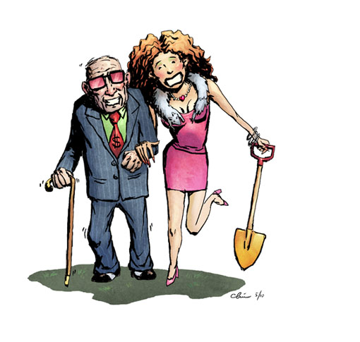 gold digger clipart clipground