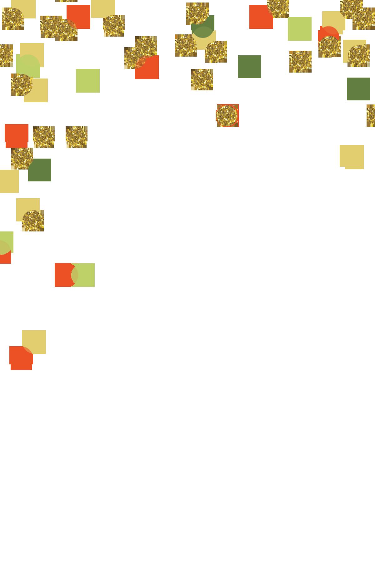 Confetti Gold Polka dot Clip art.