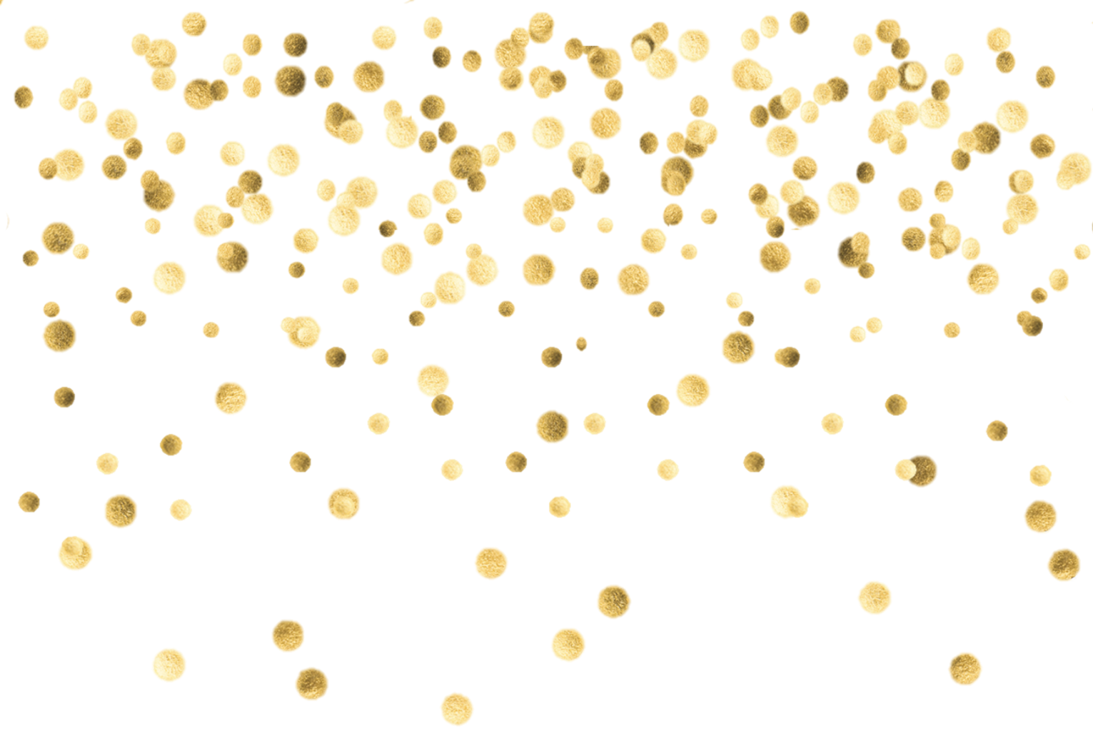 Gold dots clipart images gallery for free download.