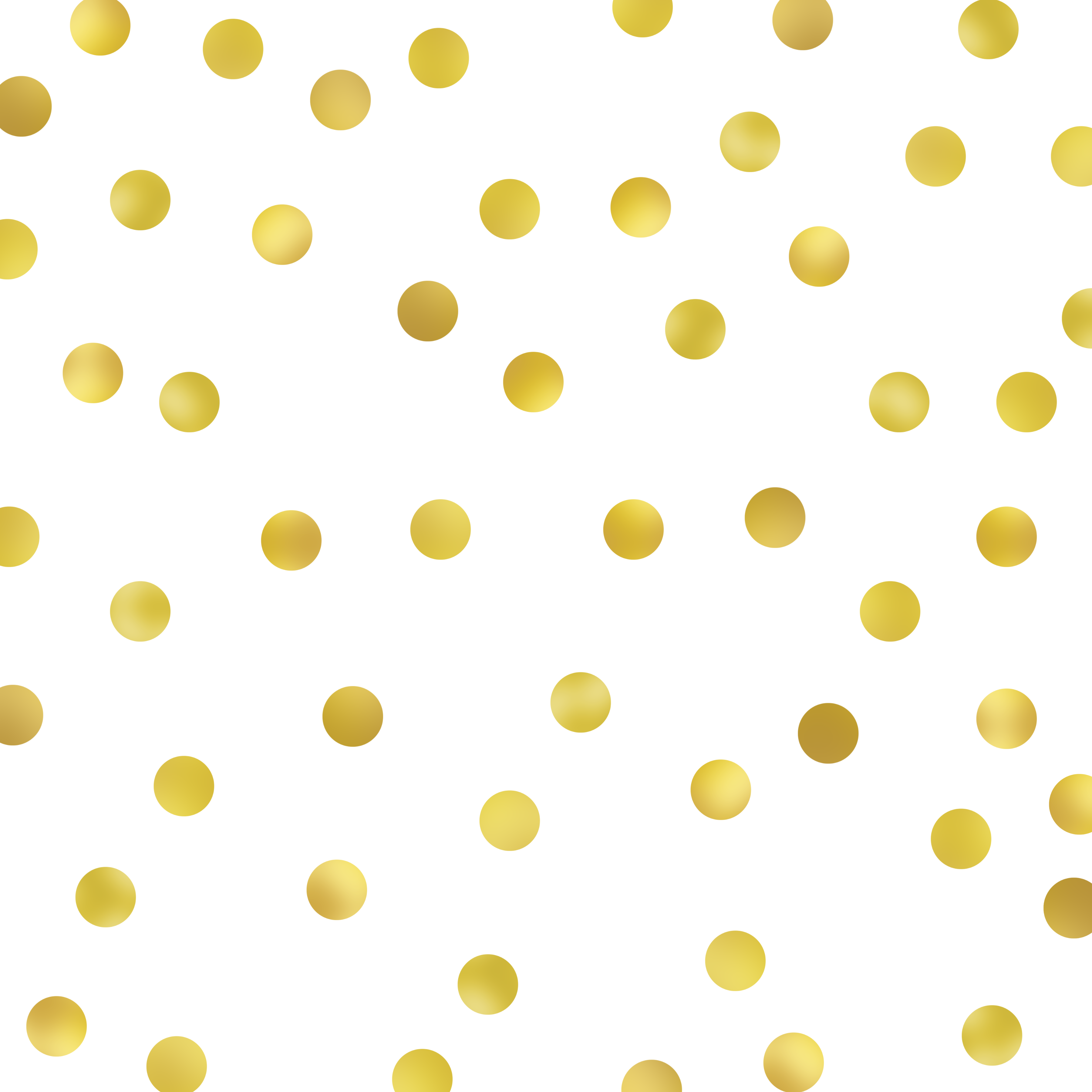 Gold polka dots clipart images gallery for free download.