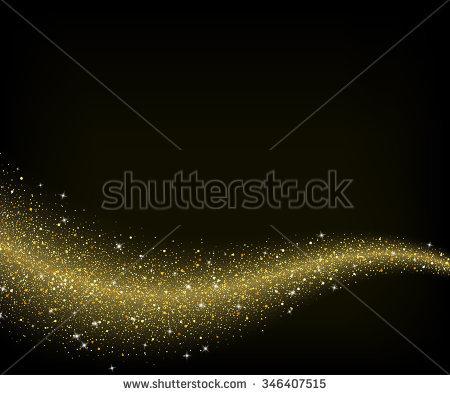 Gold Glitter Stock Photos, Royalty.