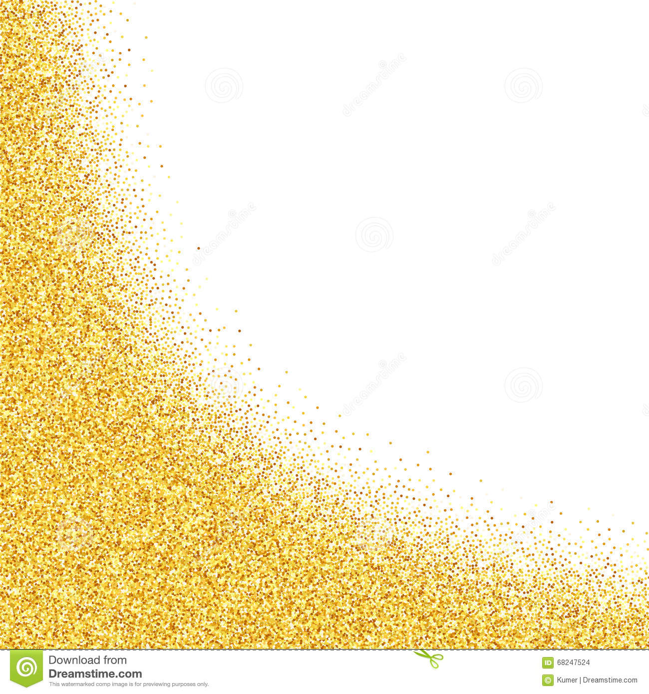 gold dust clipart clipground