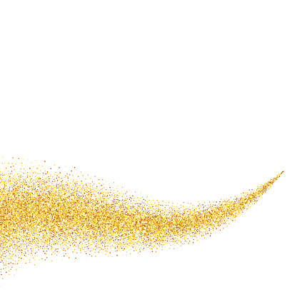 Gold dust clipart - Clipground