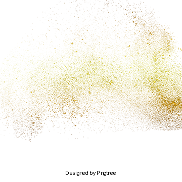 Gold Powder PNG Images.
