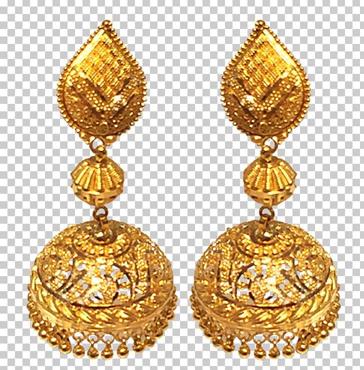 Earring Amazon.com Jewellery Costume Jewelry Gold PNG.
