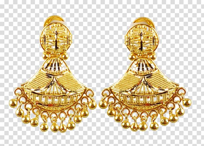Earring Jewelry design Jewellery Designer Tanishq, gold.