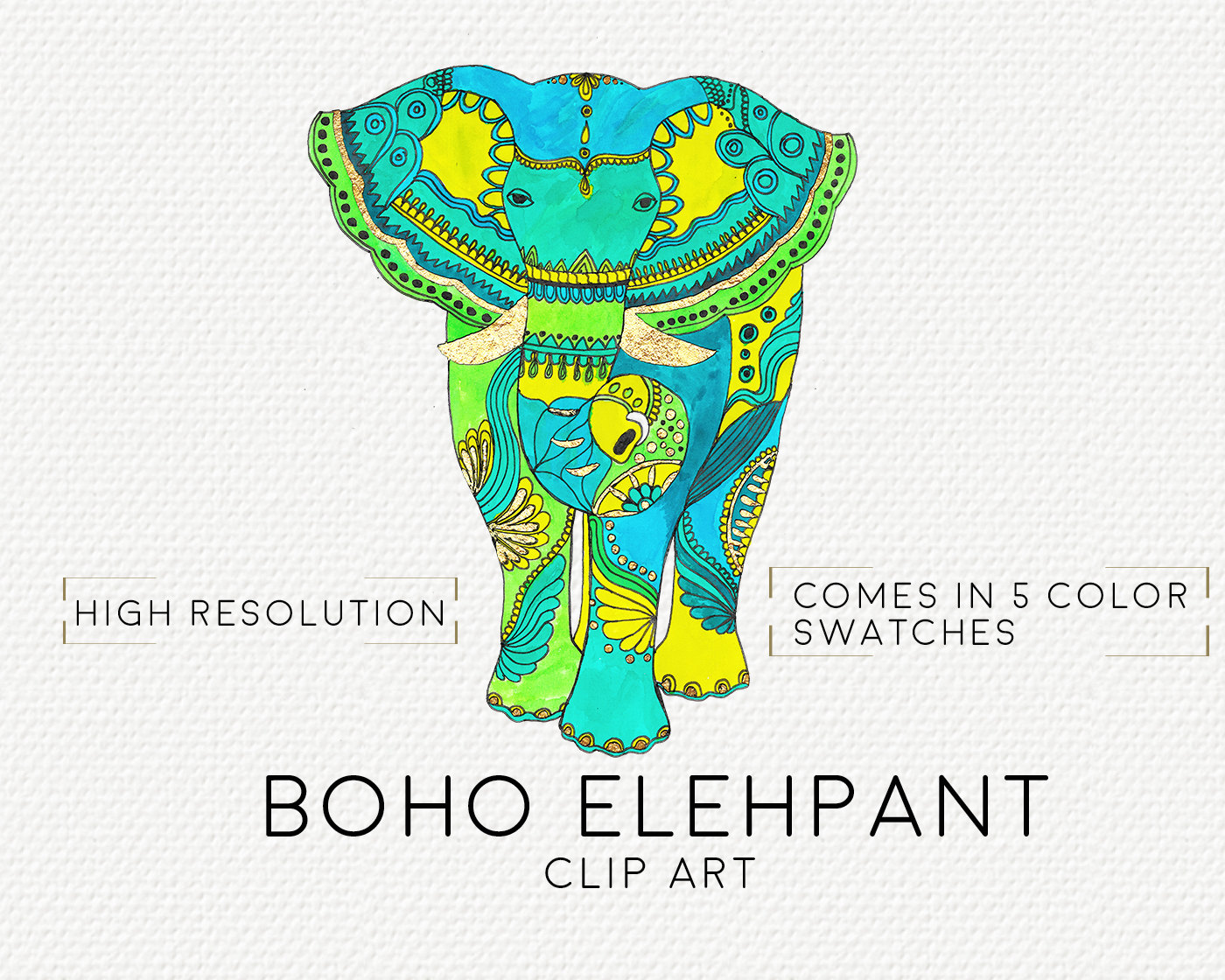 gold elephant clipart 20 free Cliparts | Download images ...