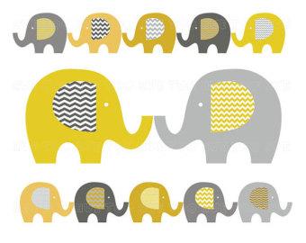 elephant clip art baby elephant clipart pastel washi by huetoo.