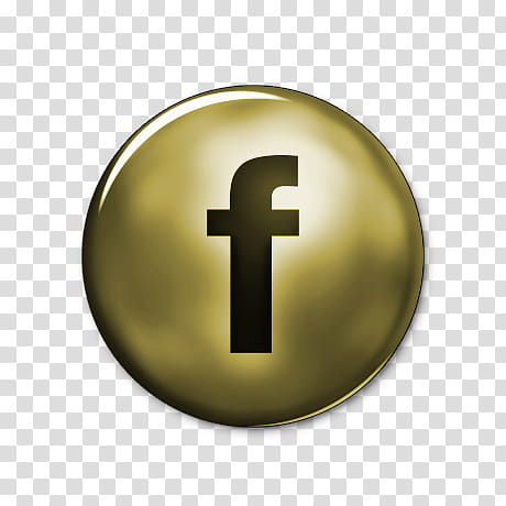 Network Gold Icons, facebook.