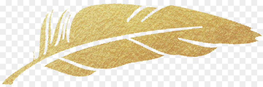 Gold Feather clipart.