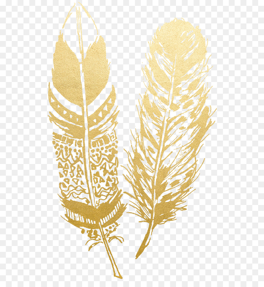 Gold Feather.