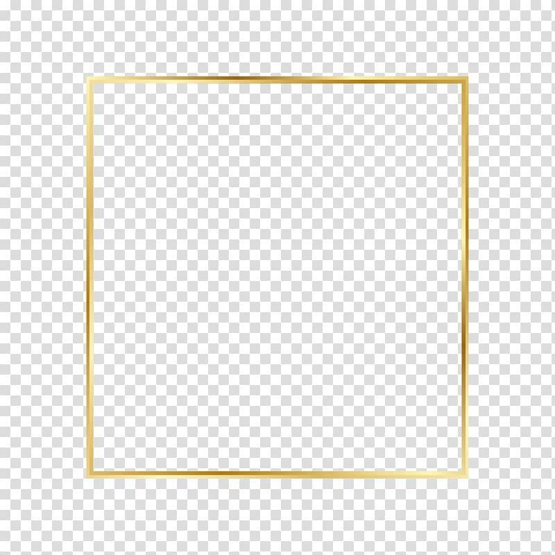 Golden flare frame, gold.
