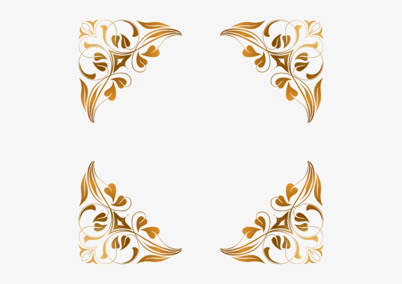 Gold Flourish Png, png collections at sccpre.cat.