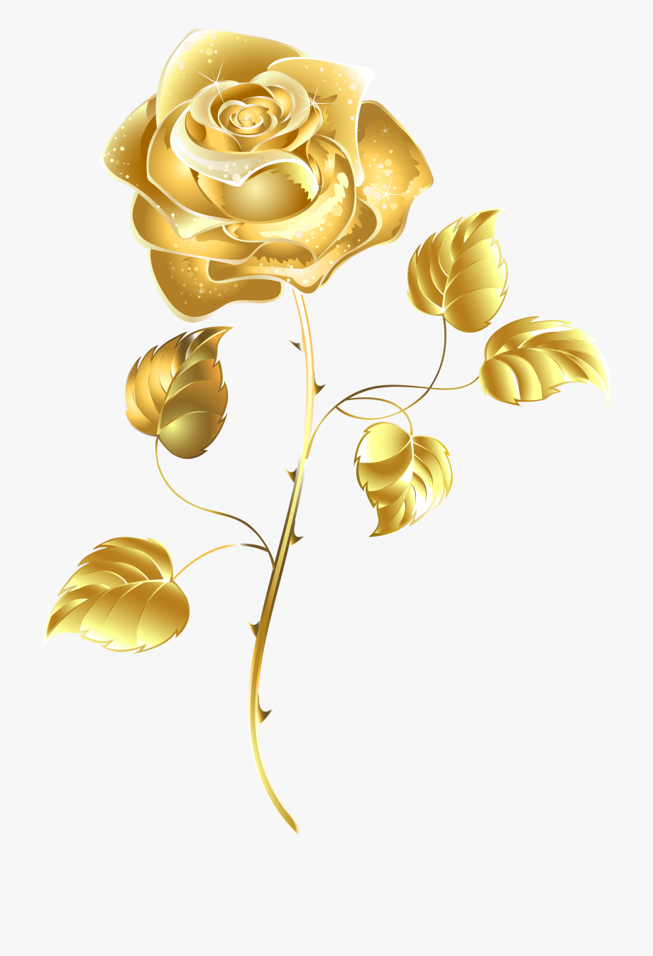 Crown Clipart Rose Gold.
