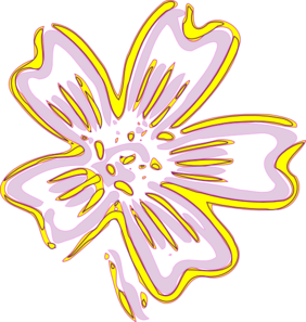 Gold Flower Clip Art at Clker.com.
