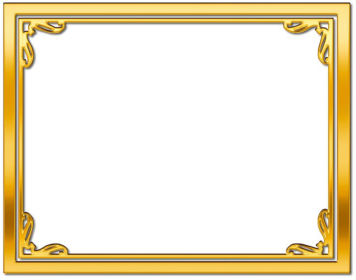 Frames Gold Desktop , Frame Gold Background Transparent.
