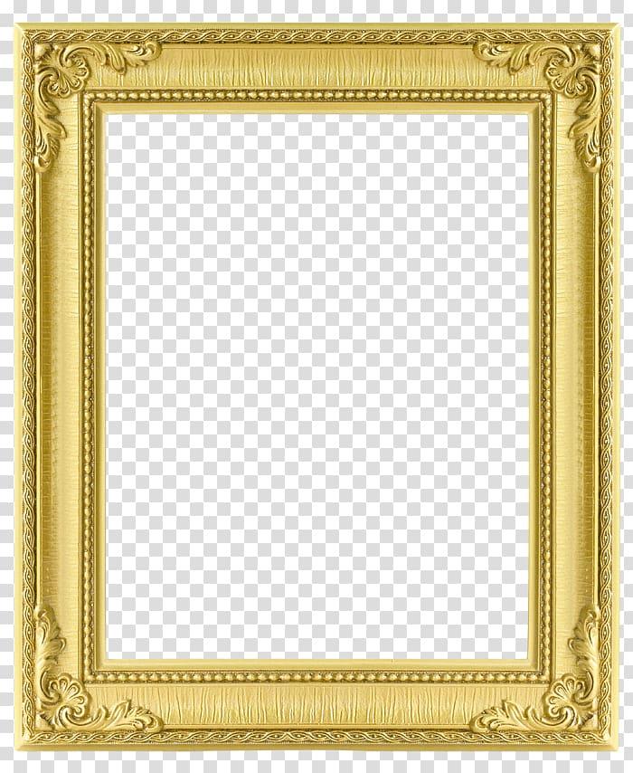 Gold frame, frame Texture, Rectangular gold frame.