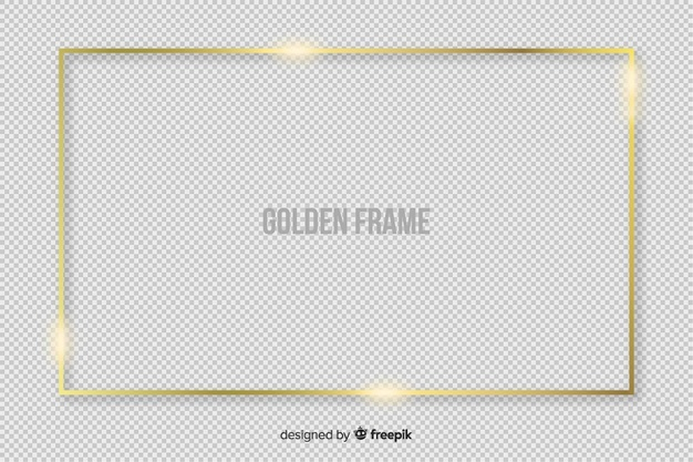 Gold Frame Vectors, Photos and PSD files.