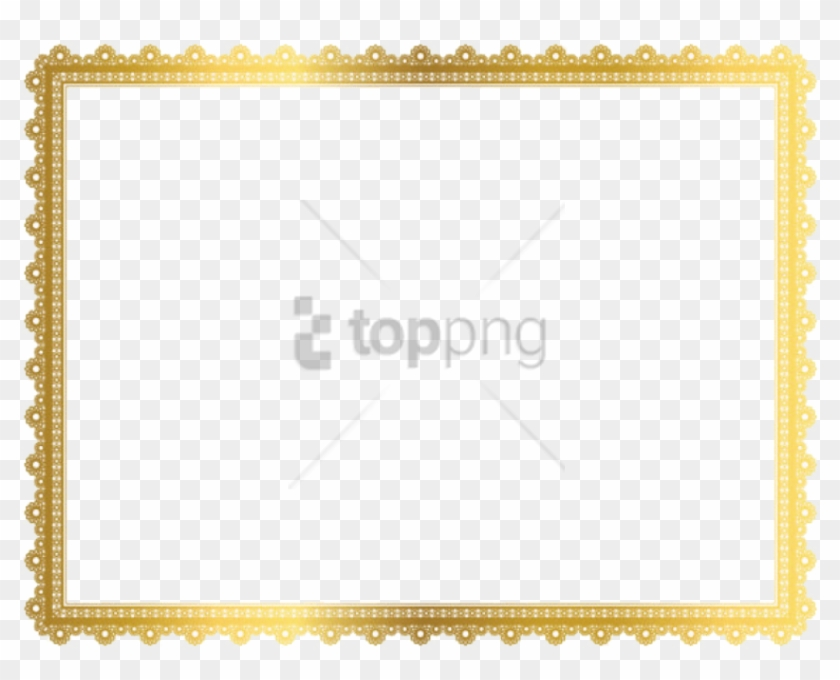 Free Png Border Golden Frame Png Image With Transparent.
