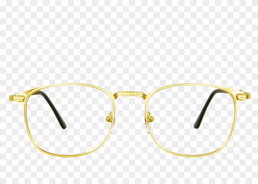 Golden Sunglasses Png.