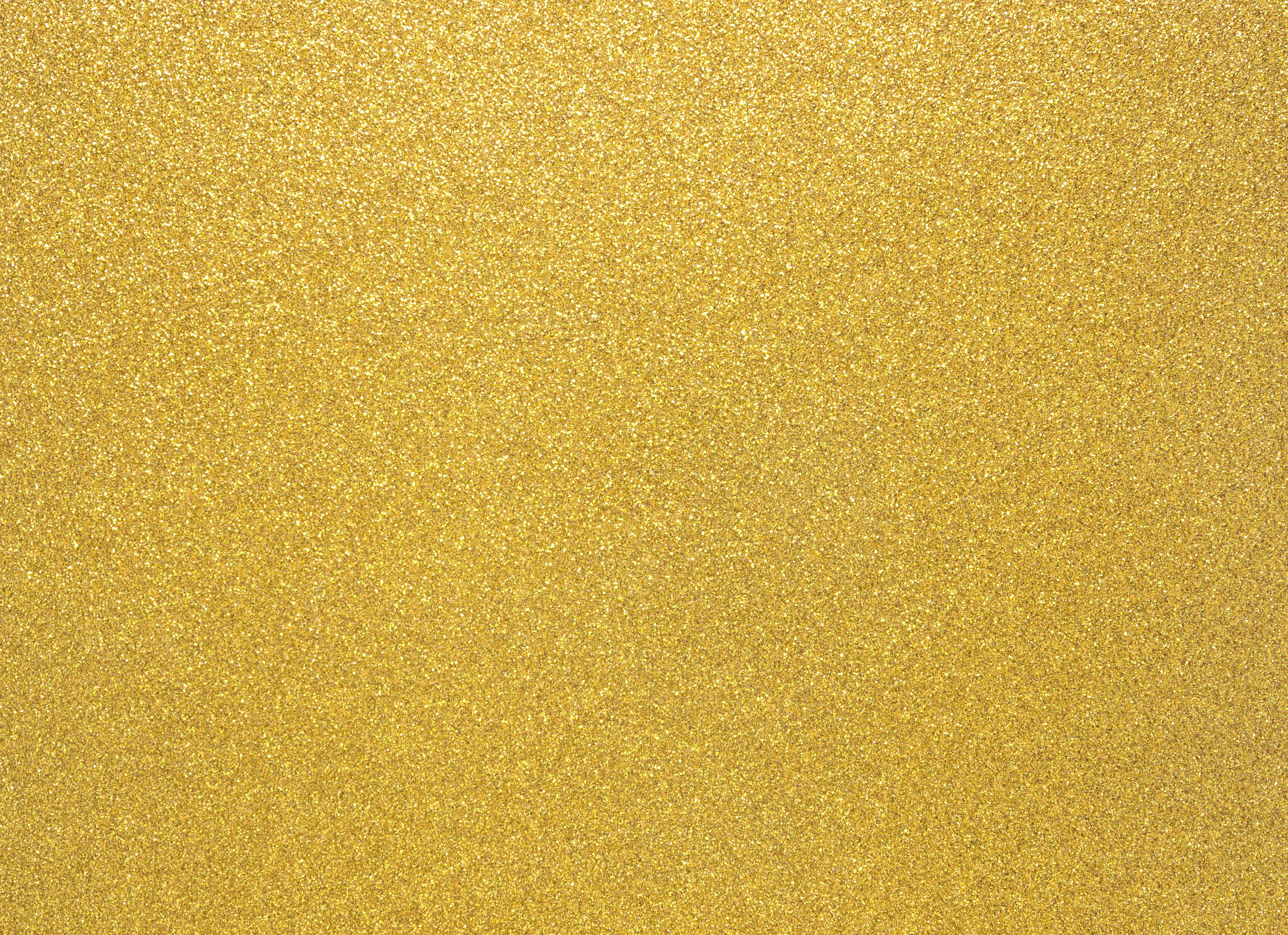 Yellow Glitter Background.
