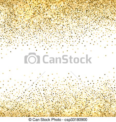 Gold glitter background..