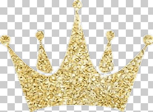 Template Crown of Lies, GOLD GLITTER CROWN PNG clipart.