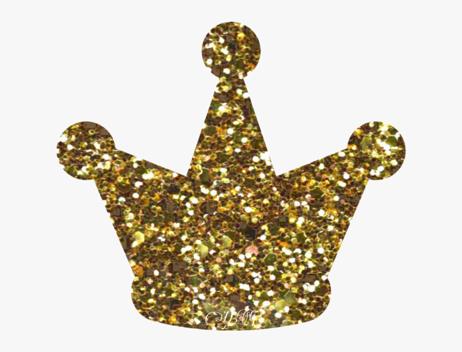 Glitter Gold Crown Clipart Transparent Png Images.