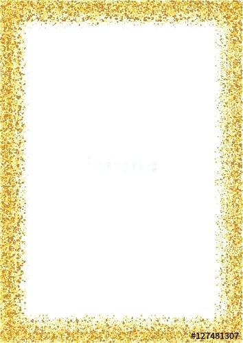 gold glitter frame.