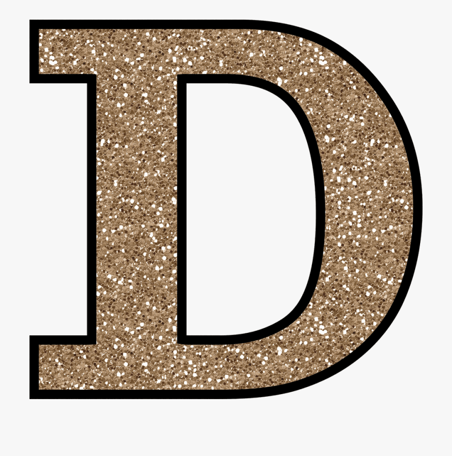 Letter D Png.