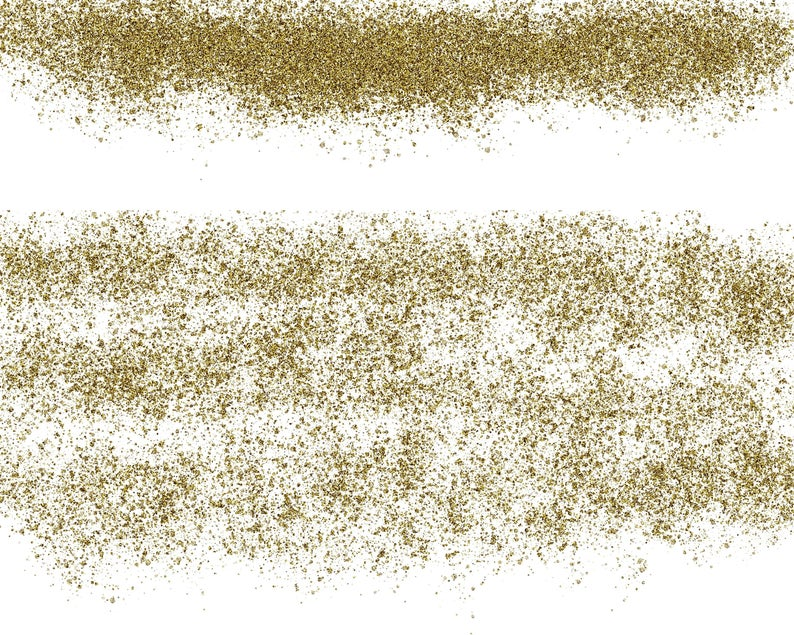 20 Gold Glitter Clipart pixie dust glitter overlay, glitter.