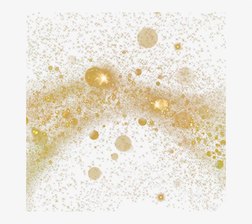 Particle Gold Light Wallpaper Spot Dust Clipart.