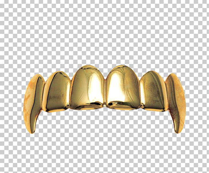 Gold Grill Jewellery Tooth Fang PNG, Clipart, Angle, Brass, Canine.