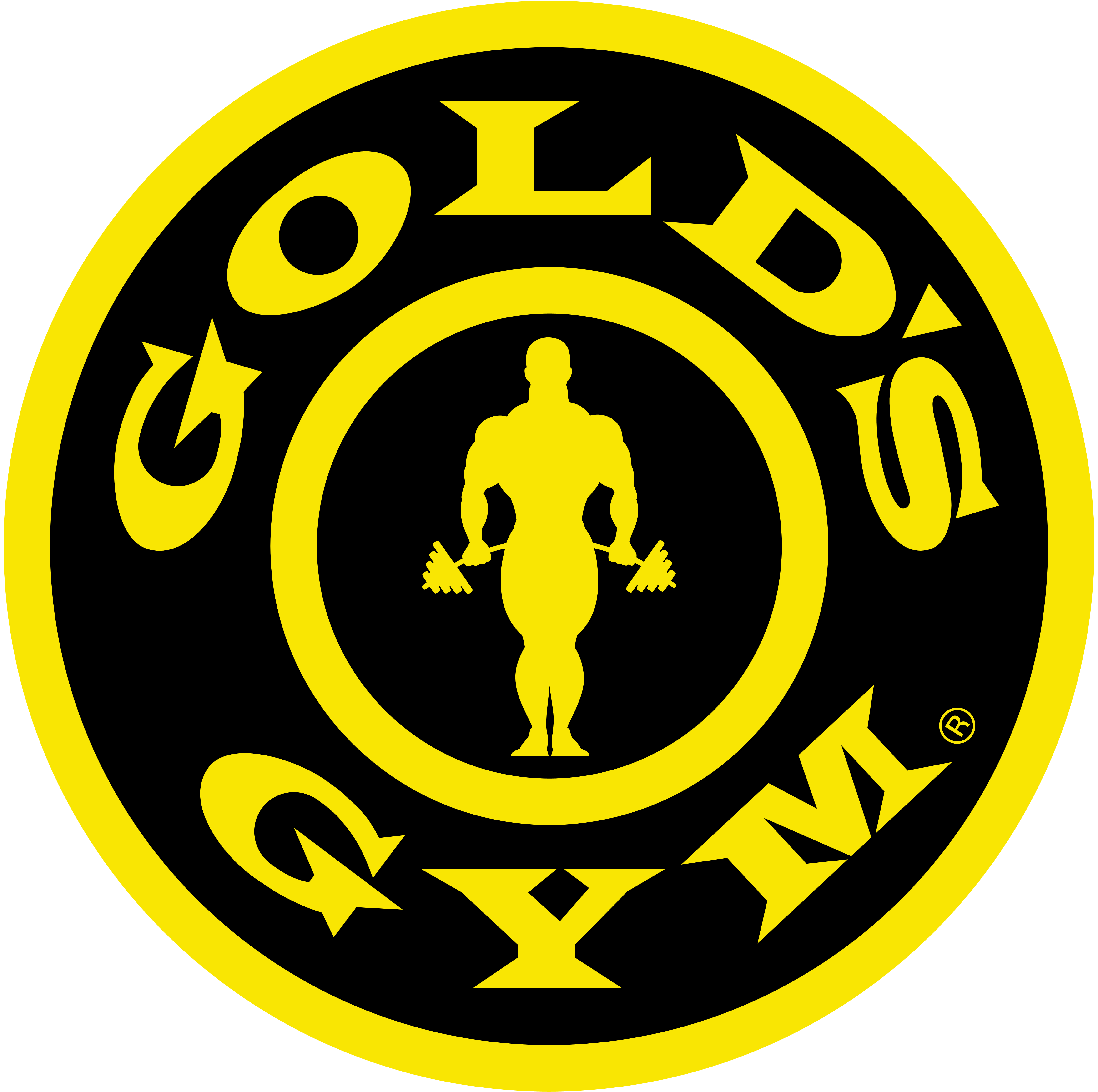 Gold\'s Gym.