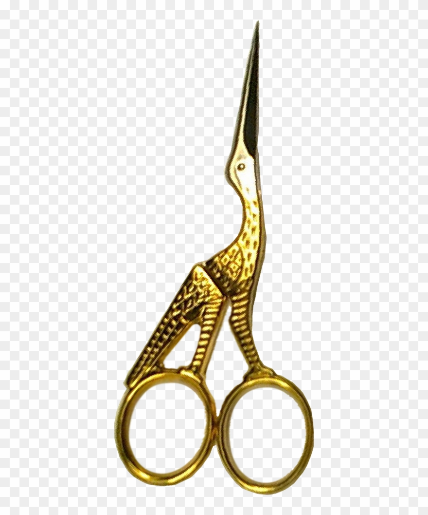 Gold Hair Scissors Png Clipart (#2797943).