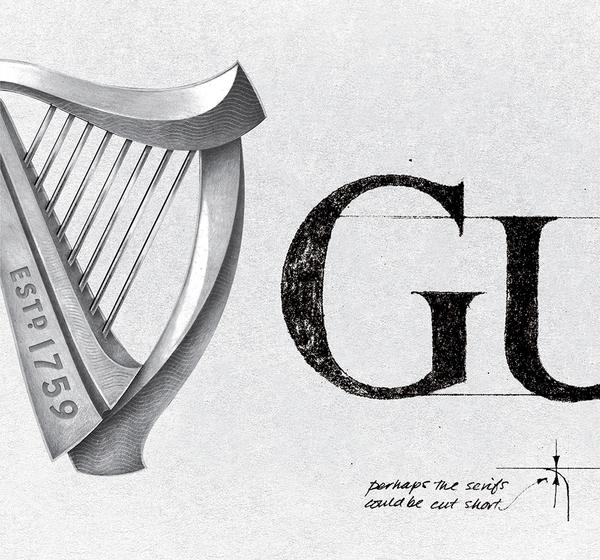 Guinness Puts New Life Into Their Famous Logo.