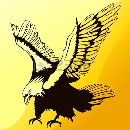 865 Golden Eagle Stock Vector Illustration And Royalty Free Golden.