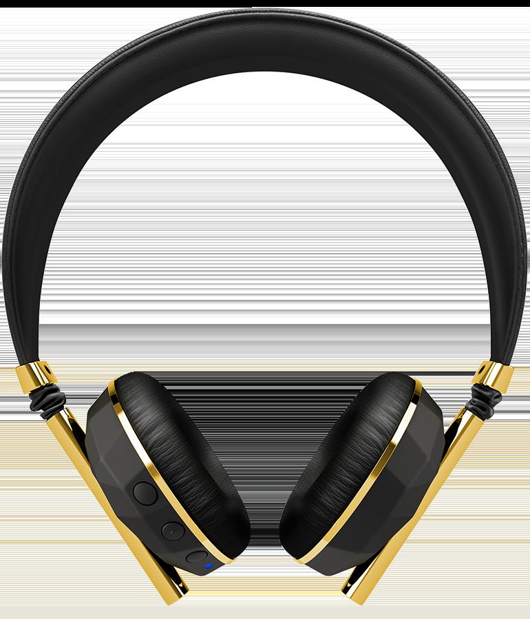 Headphones clipart gold headphone, Headphones gold headphone.