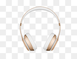 Gold Headphones PNG and Gold Headphones Transparent Clipart.