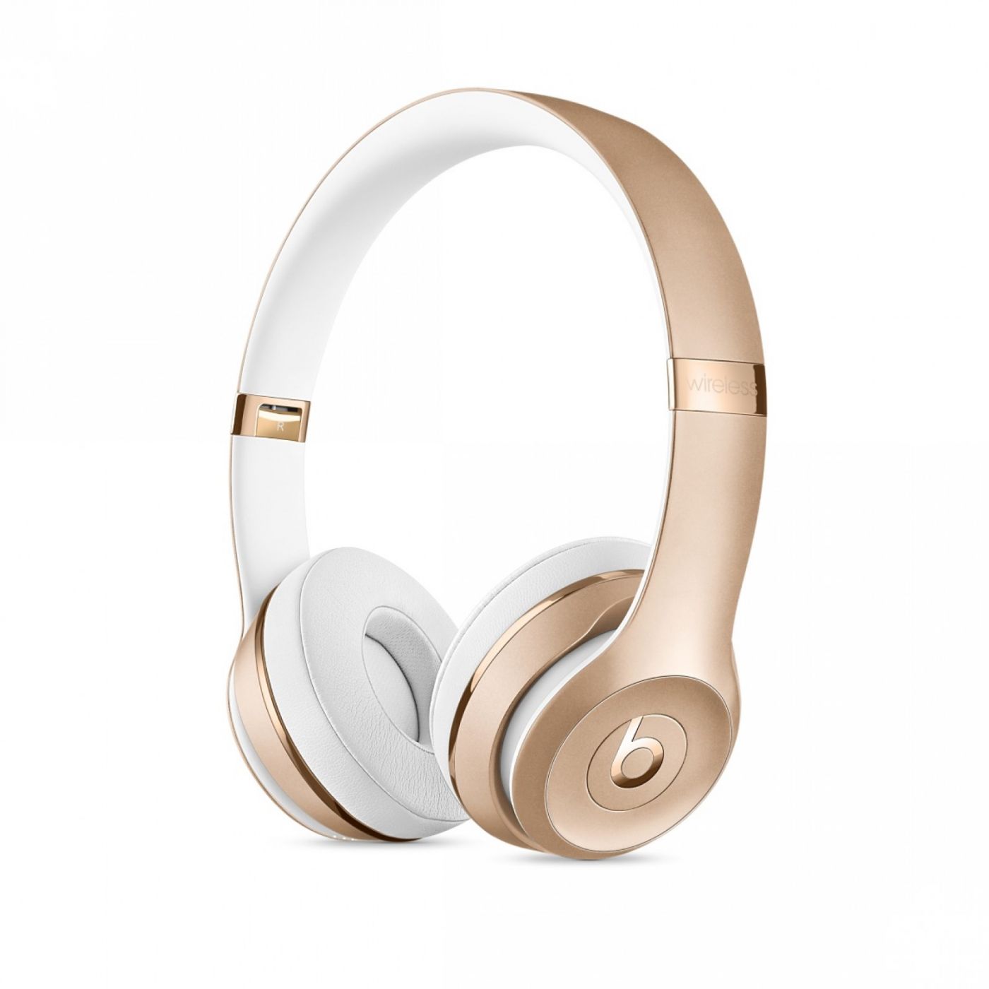 Beats Solo3 Wireless Headphones Matte Gold.