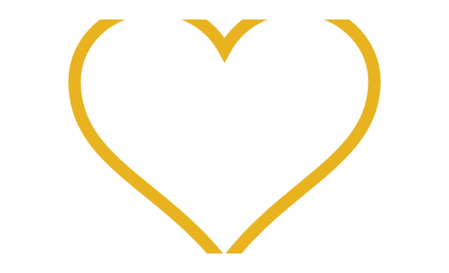 Gold Heart Clipart.